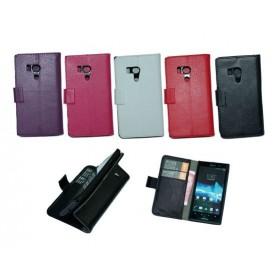 Mobilplånbok 2-kort Sony Xperia Acro S (LT26w)