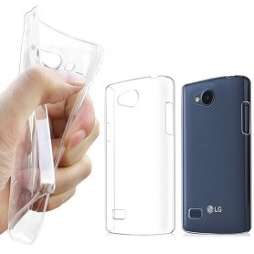 LG Joy silikon skal transparent