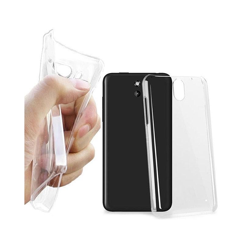 HTC Desire 610 silikon skal transparent c9fab0dd17af8