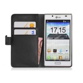Mobilplånbok 2-kort LG Optimus L7 (P700)