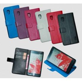 Mobilplånbok 2-kort LG Optimus G (E973)