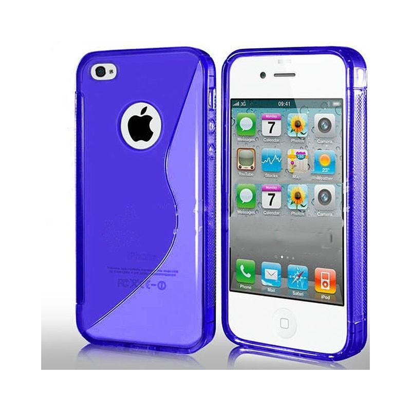 S Line silikon skal iPhone 4