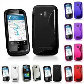 S Line silikon skal Nokia Lumia 610