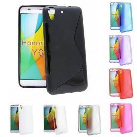 S Line silikon skal Huawei Y6