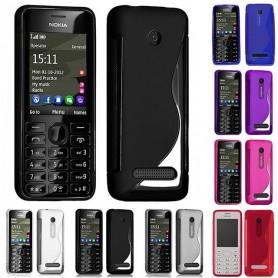 S Line silikon skal Nokia 206