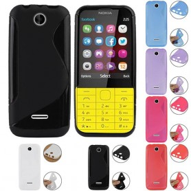 S Line silicone shell Nokia 206