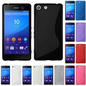 S Line silikon skal Sony Xperia M5