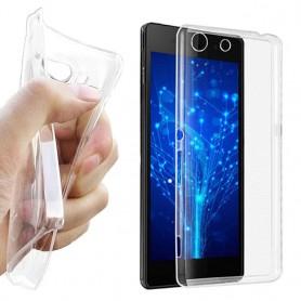 Sony Xperia M5 Silikon Transparent