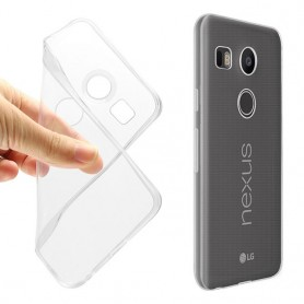 LG Nexus 5X Silikon Transparent