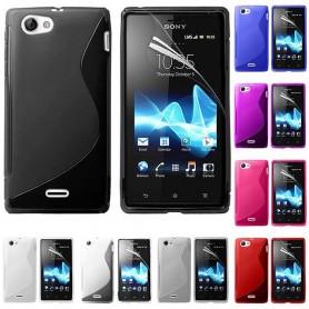 S Line silikon skal Sony Xperia J
