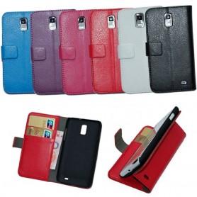 Mobilplånbok 2-kort Samsung Galaxy S2 LTE (GT-i9210)