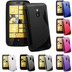S Line silikon skal Nokia Lumia 620 (RM-846)