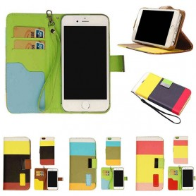 Color Mobilplånbok iPhone 4 / 4S