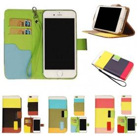 Color Mobilplånbok iPhone 5 / 5S