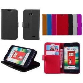 Mobilplånbok 2-kort LG L70...