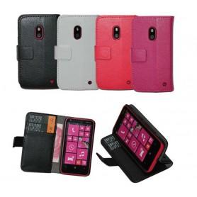 Mobilplånbok 2-kort Nokia Lumia 620 (RM-846)