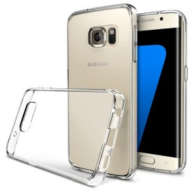 Galaxy S7 Edge Silikon skal Transparent