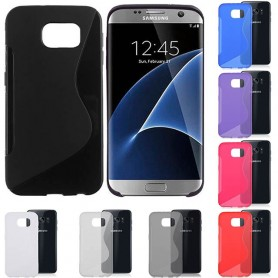 S Line silikon skal Galaxy S7 Edge