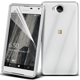 Clear Hard Case Microsoft Lumia 650