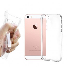 iPhone 5SE  Silikon skal Transparent