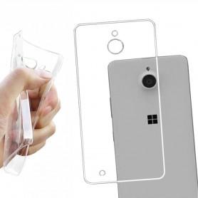 Microsoft Lumia 850  Silikon skal Transparent