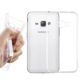 Galaxy J1 2016  Silikon skal Transparent