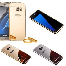 Aluminium spegel skal Galaxy S7 Edge