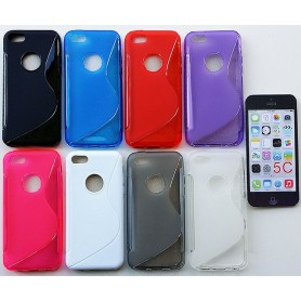 S Line silikon skal Apple iPhone 5C