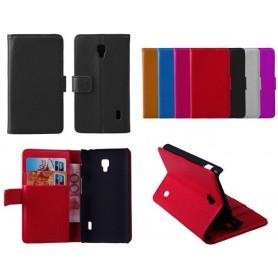 Mobilplånbok LG Optimus F6 (D500)