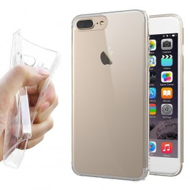 Apple iPhone 7 / 8 Silikon skal Transparent mobilskal