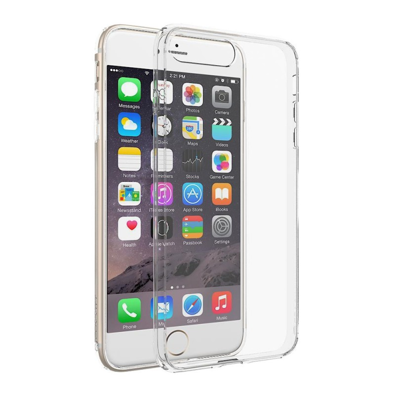 Clear Hard Case iPhone 7 Plus / 8 Plus mobilskal