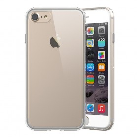 Clear Hard Case iPhone 7, 8 mobil skal transparent