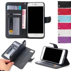 Magnetisk mobilplånbok Apple iPhone 7 / 8 mobilskal fodral