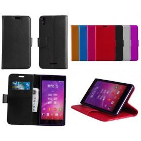 Mobilplånbok 2-kort Sony Xperia T3 (D5103)