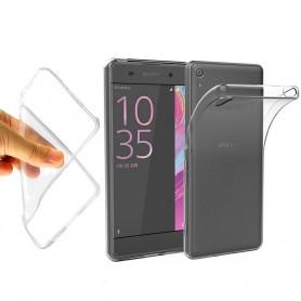 Sony Xperia E5 Silikon skal Transparent