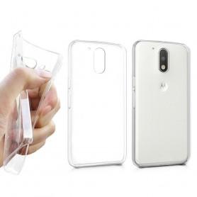 Motorola Moto G4/G4Plus Silikon skal Transparent