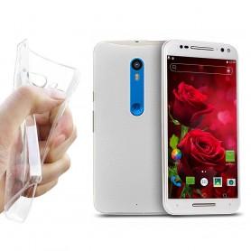 Motorola Moto X Play Silikon skal Transparent