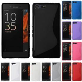 S Line silikon skal Sony Xperia X Compact