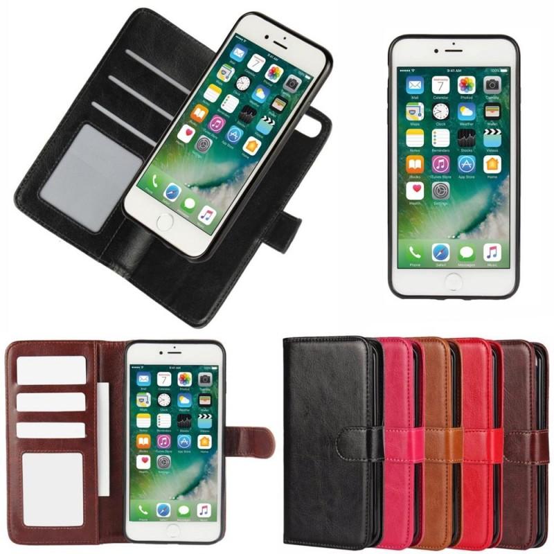 Köp magnetiskt mobilplånbok 2i1 till iPhone 7+   8+ - CaseOnline.se 9634fa282b2ec