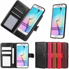 MOVE Magnetisk mobilplånbok 2i1 Galaxy S6 Edge