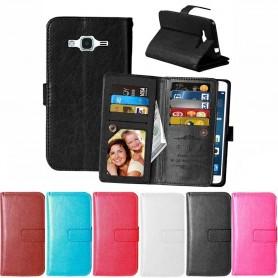 DoubleFlip Wallet Case 9-card Samsung Galaxy J3/J3 2016 (SM-J300/J310)