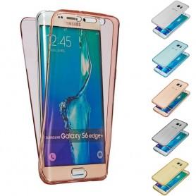 360 heltäckande silikon skal Galaxy S6 Edge Plus