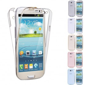 360 heltäckande silikon skal Galaxy S3