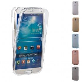 360 heltäckande silikon skal Samsung Galaxy S4