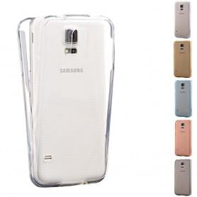 360 heltäckande silikon skal Samsung Galaxy S5