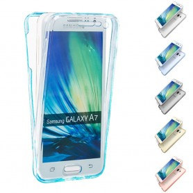 360 heltäckande silikon skal Galaxy A7