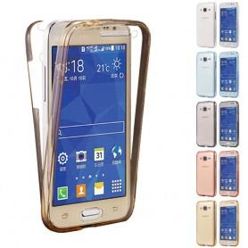360 heltäckande silikon skal Galaxy Core Prime