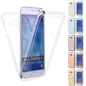 360 heltäckande silikon skal Samsung Galaxy J5 2015 (SM-J500F)