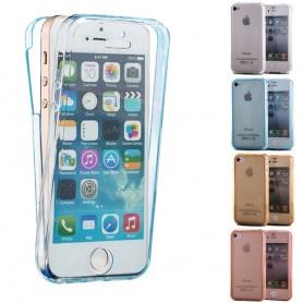 360 heltäckande silikon skal Apple iPhone 5, 5S, 5SE