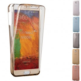 360 heltäckande silikon skal Samsung Galaxy Note 3 (SM-N9005)